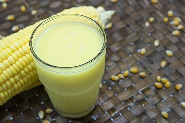 Молочная спелость кукурузы